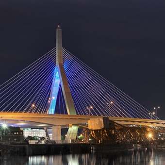 Zakim Bridge Boston MA